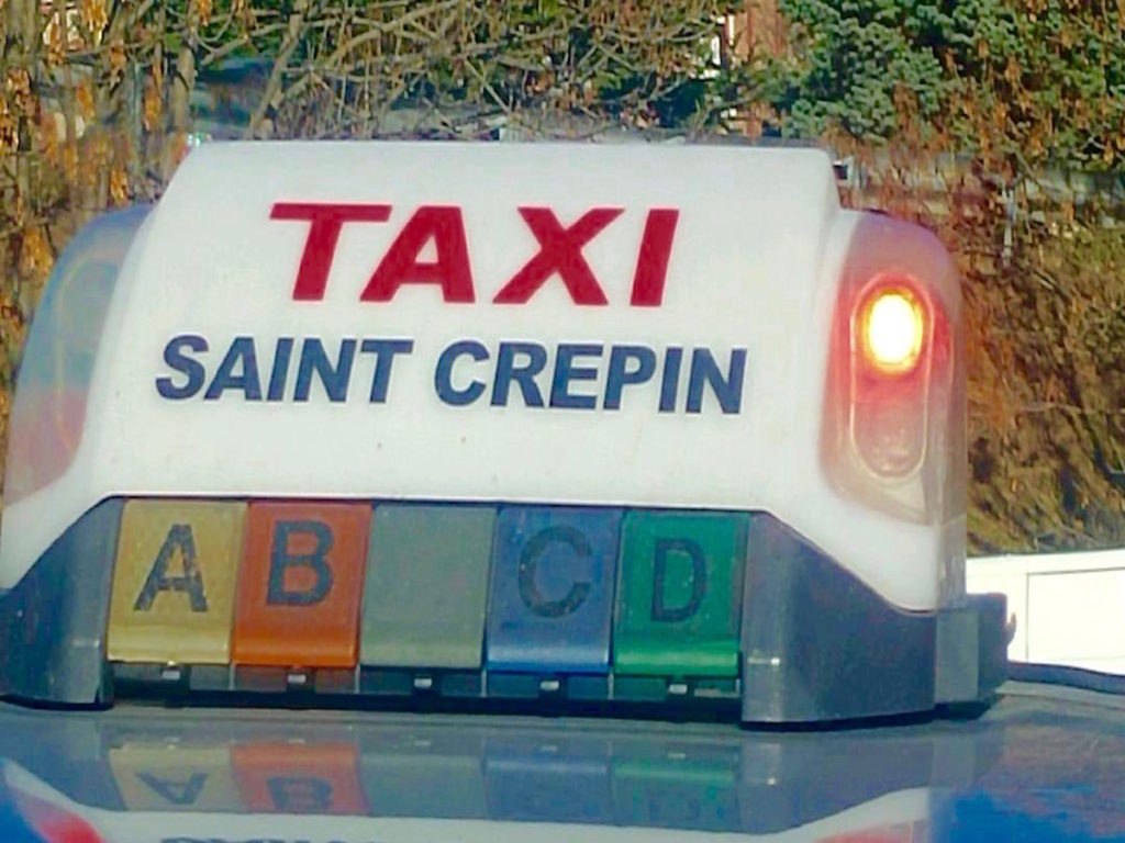 Taxi st crepin